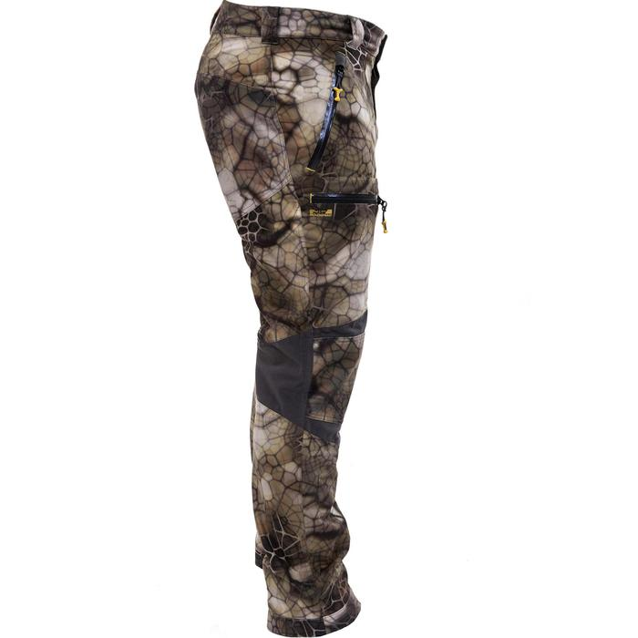 Pantalon chasse imperméable actikam 500 camouflage furtiv - 988889