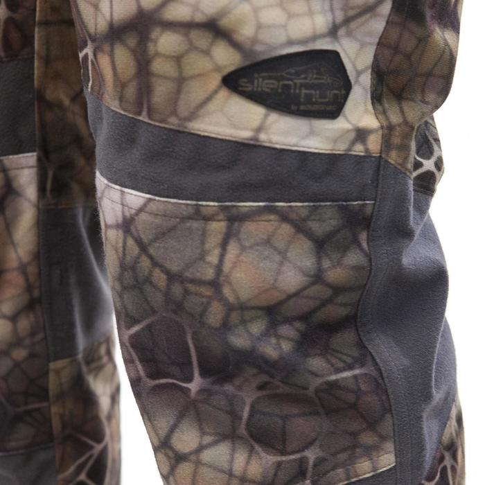 Pantalon chasse imperméable actikam 500 camouflage furtiv - 988893