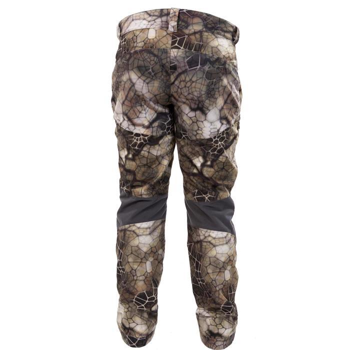 Pantalon chasse imperméable actikam 500 camouflage furtiv - 988894
