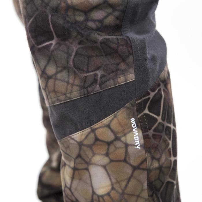 Pantalon chasse imperméable actikam 500 camouflage furtiv - 988895