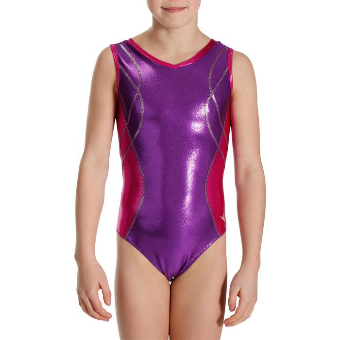 Justaucorps sans manches Gymnastique (GAF) Fille - 989160
