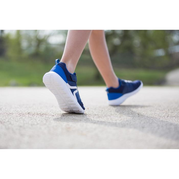 Kindersneakers voor wandelen Soft 140 marine/wit