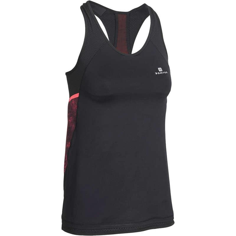 FITNESS CARDIO EXPERT WOMAN CLOTHING Fitness - Koszulka ENERGY XTREM fitness DOMYOS - Fitness