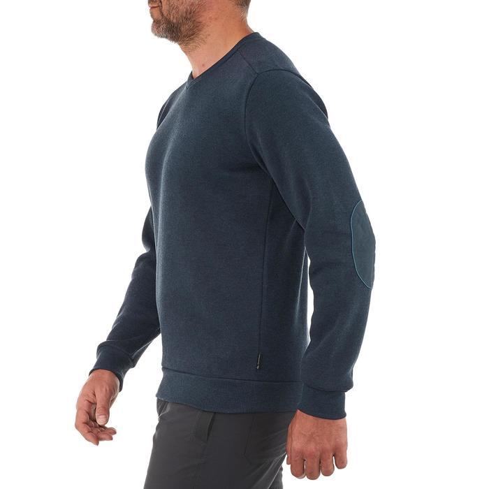 Jersey de senderismo en la naturaleza para hombre NH150 azul marino