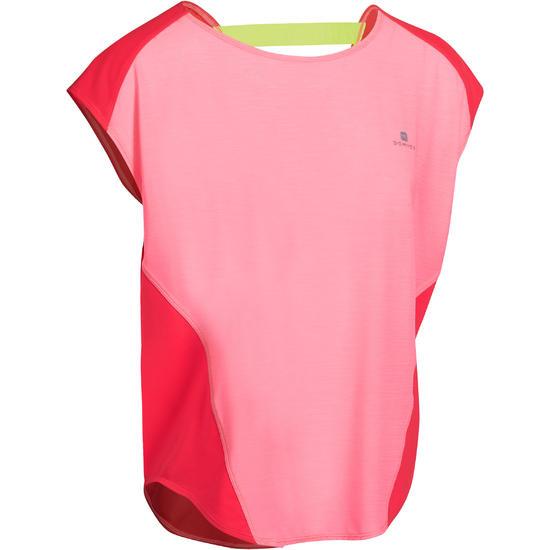 Wijd fitness T-shirt Energy voor dames - 989714