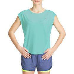 Wijd fitness T-shirt Energy voor dames - 989754