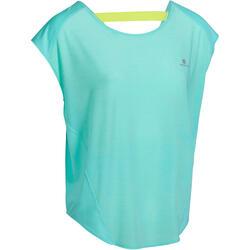 Wijd fitness T-shirt Energy voor dames - 989765