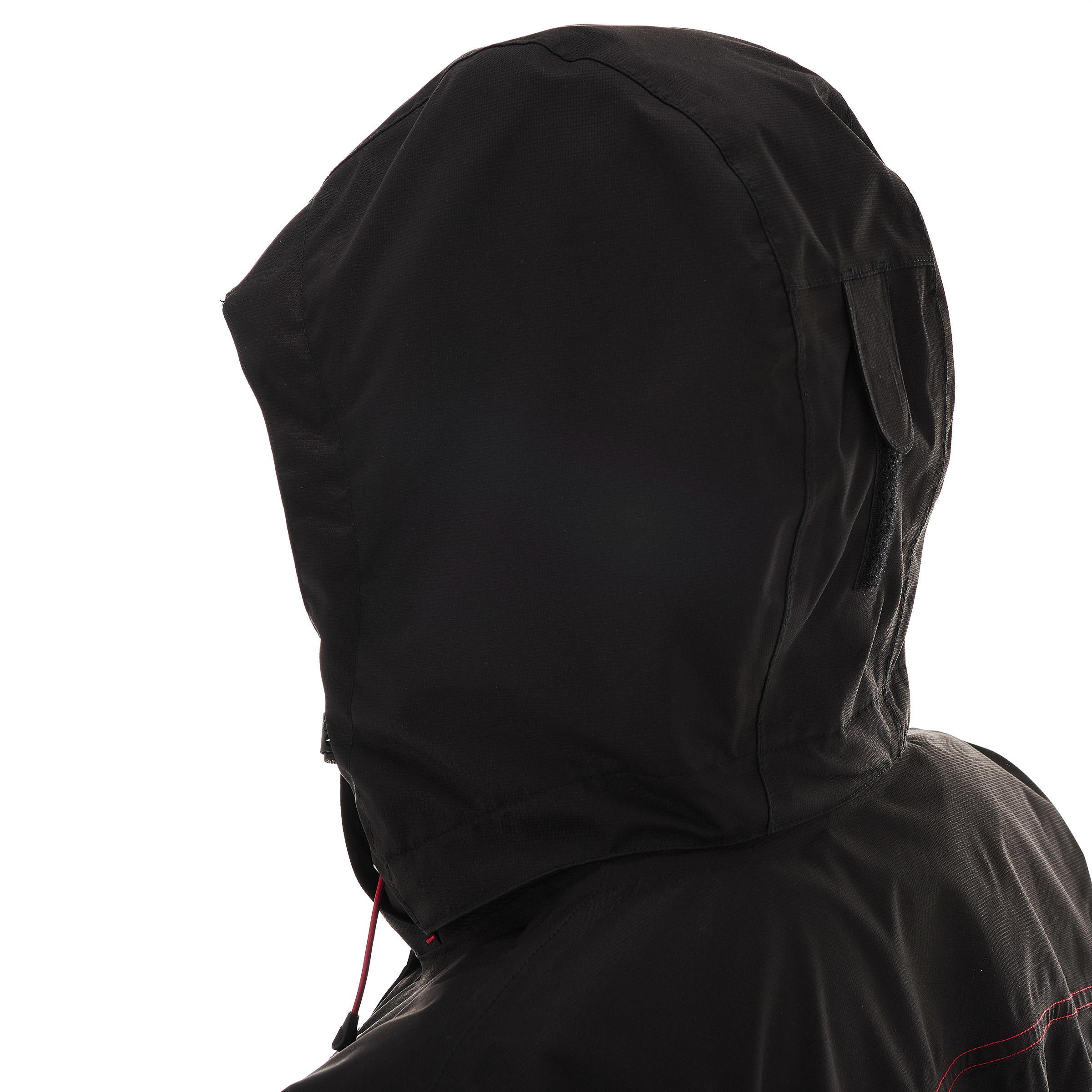 Rainwarm 100 Women's 3-in-1 Trekking Jacket - Black
