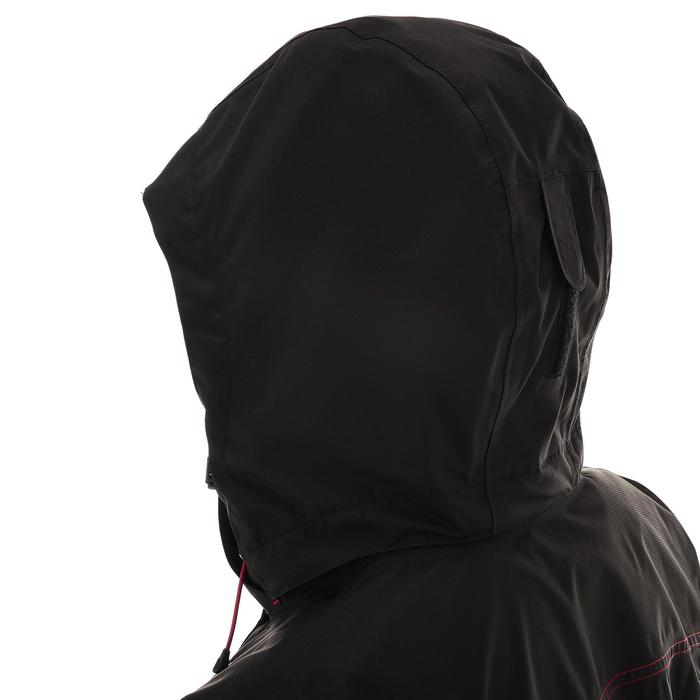 Veste trekking Rainwarm 100 3en1 femme noir