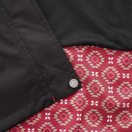 מעיל תרמילאים 100 לנשים 3 ב-1 - שחור