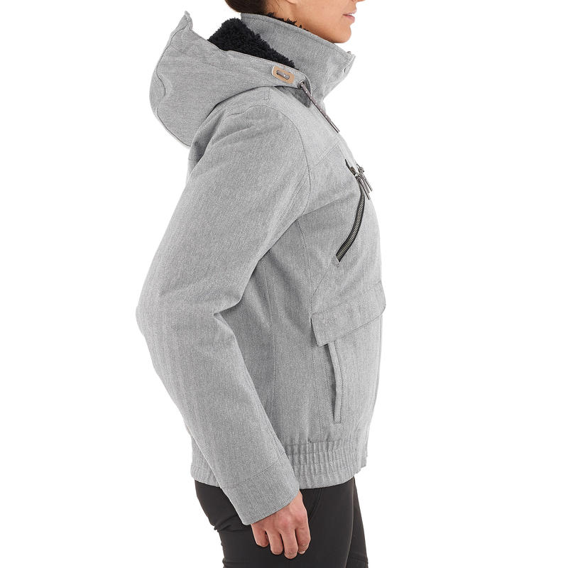 SH500 X-Warm Women's Snow Hiking Jacket - Grey