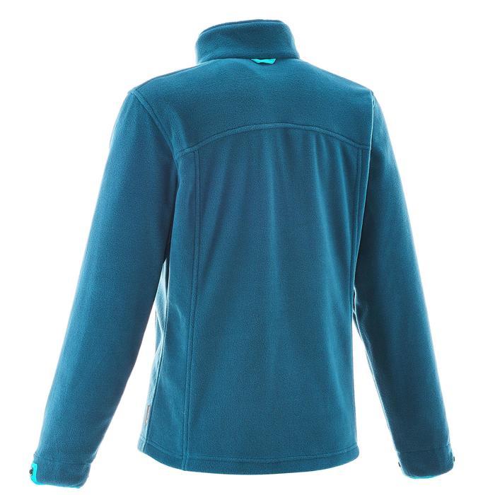 3-in-1 damesjas voor trekking Rainwarm 300 blauw