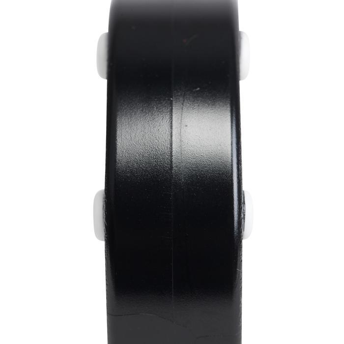 Puck voor inlinehockey zwart