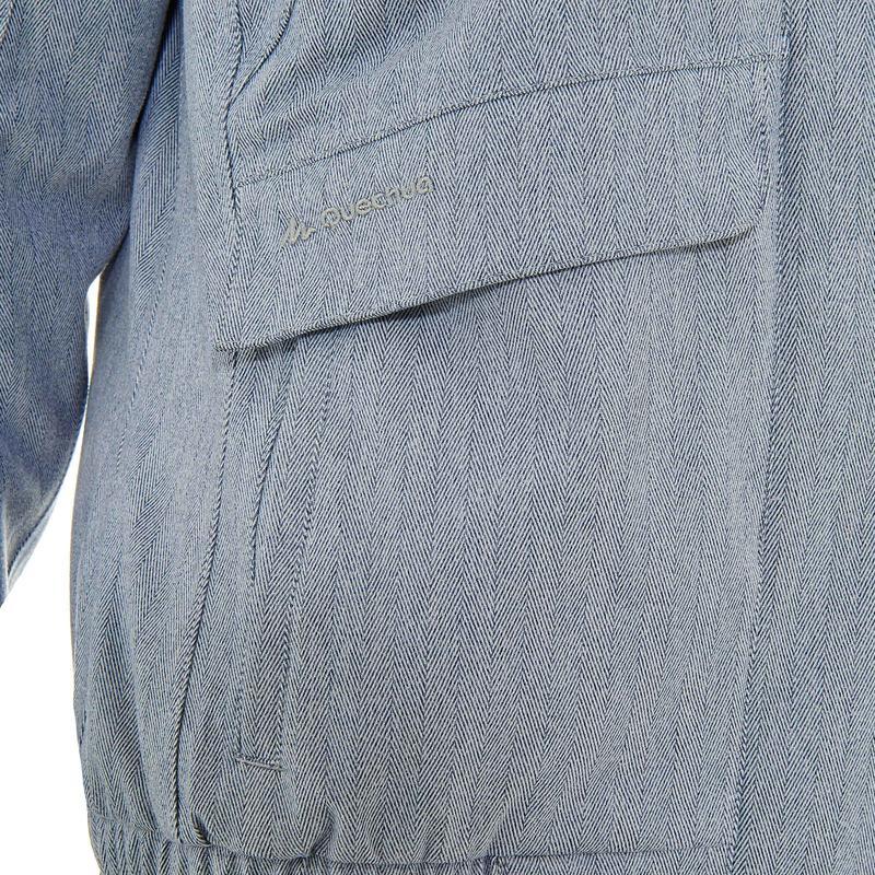 Veste de randonnée neige femme SH500 x-warm gris