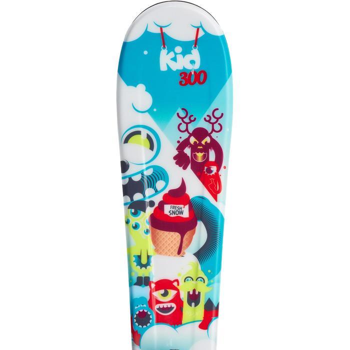 SKIS DE PISTE ENFANTS KID 300 BLEUS - 990751