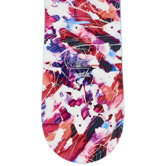 Snowboard all mountain, Femme, Serenity 300 Evo, blanc rose et violet - 990936