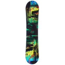 Snowboard kind Scan zwart blauw en groen