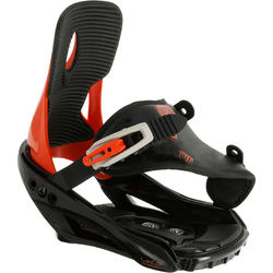 Snowboardbindingen kind Illusion 300 Youth zwart/rood - 990984