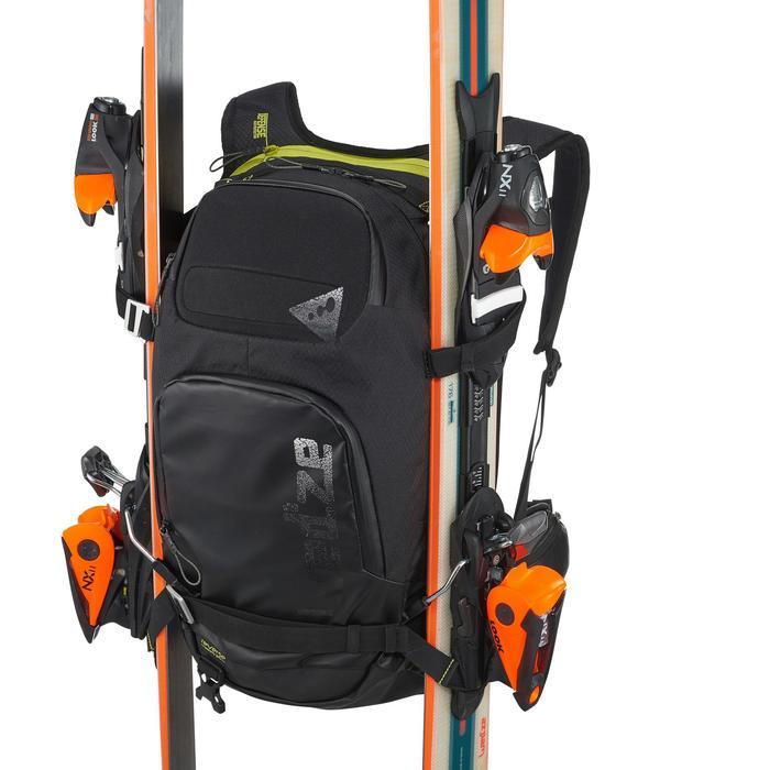 Sac à dos de ski Freeride adulte reverse defense 700 noir - 991083