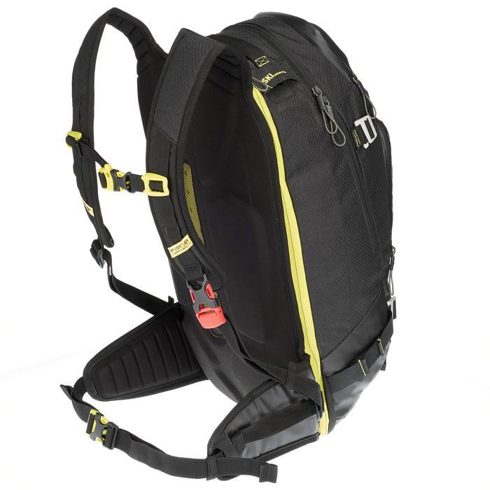 Sac à dos de ski Freeride adulte reverse defense 700 noir - 991085