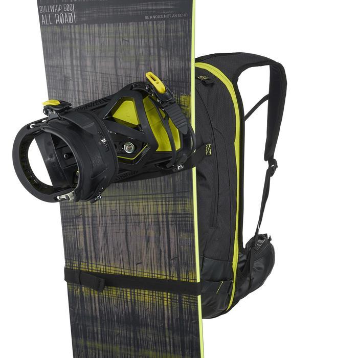 Sac à dos de ski Freeride adulte reverse defense 700 noir - 991104
