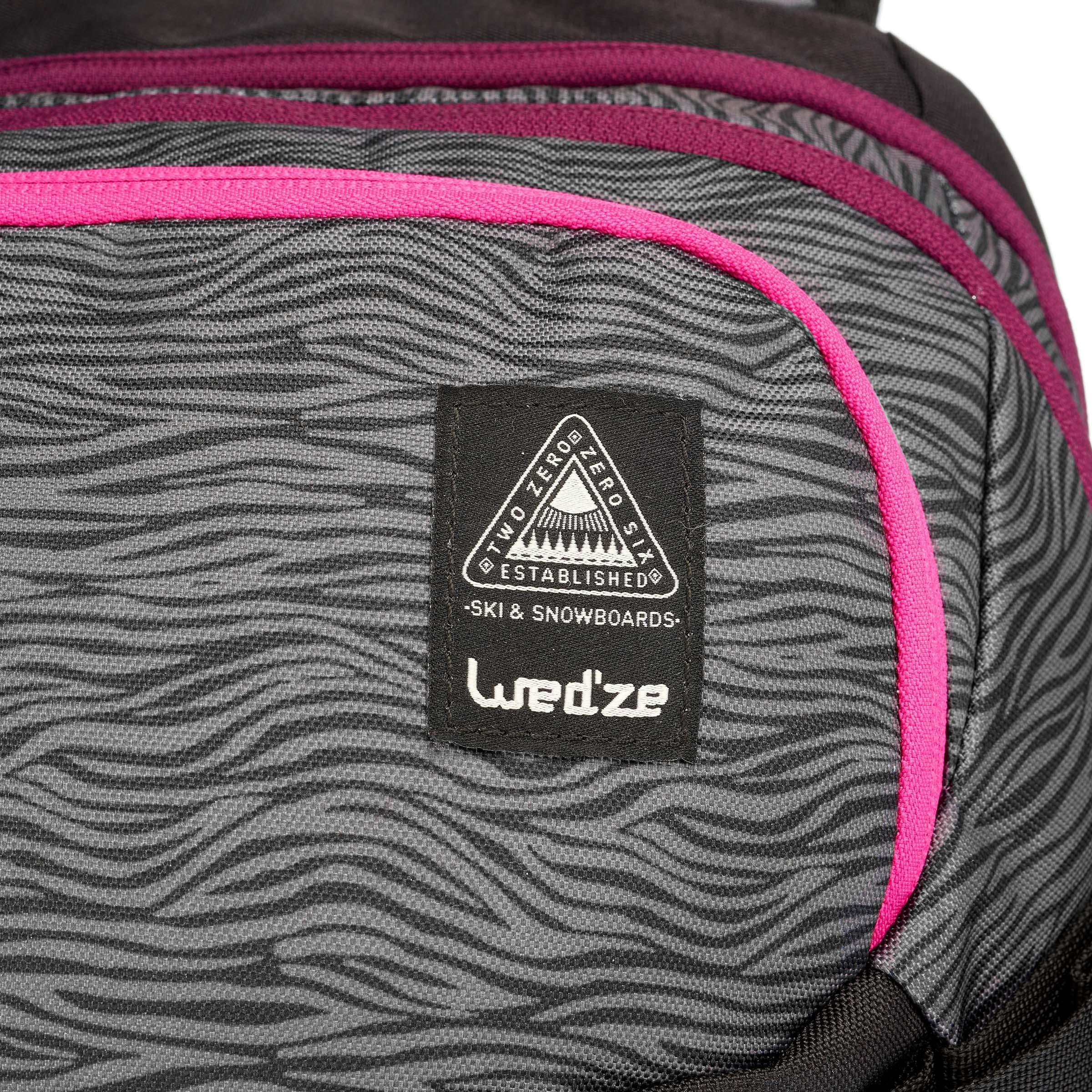 Wed'ze FS 500 17 Reverse Backpack - Purple