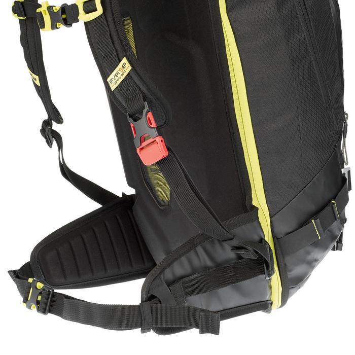 Sac à dos de ski Freeride adulte reverse defense 700 noir - 991117