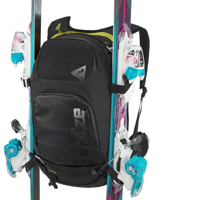 Sac à dos de ski Freeride adulte reverse defense 700 noir - 991125