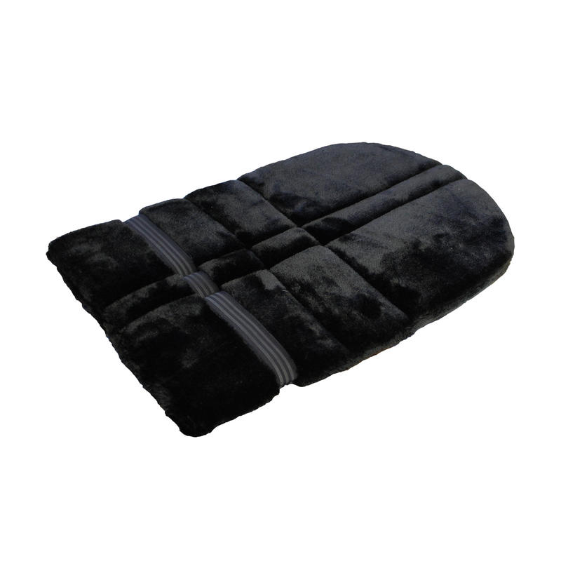 Schooling Horse Riding Foam Saddle Pad For Horse and Pony - Black