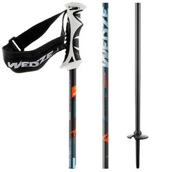 Wed'ze Boost 700 Grip 男士輕盈滑雪桿 - 黑色