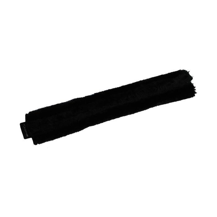 Fourreau de muserolle équitation cheval noir - 991188