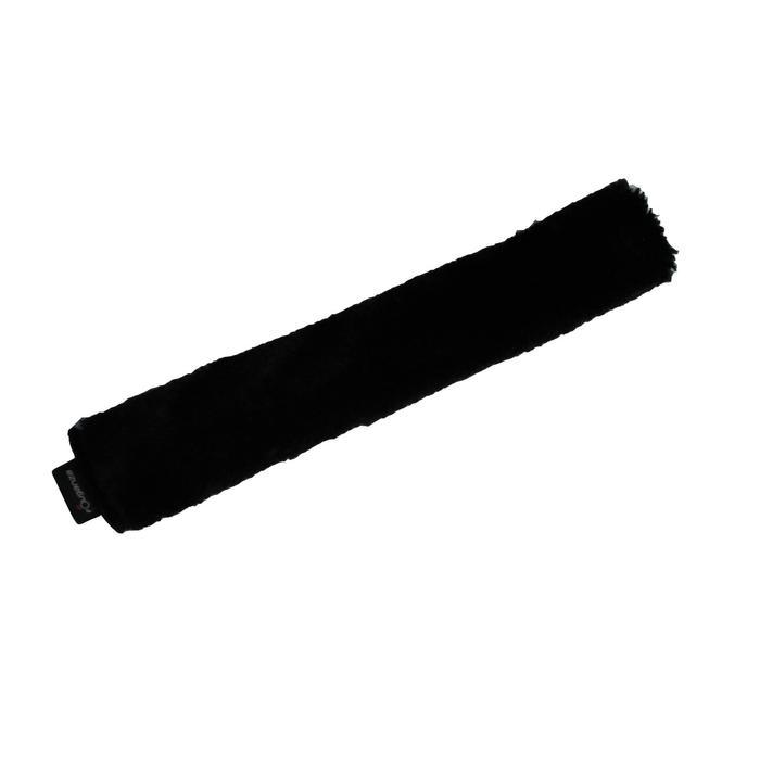 Fourreau de muserolle équitation cheval noir - 991190