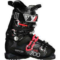 WID 700 WOMEN'S DOWNHILL SKIING BOOTS - BLACK