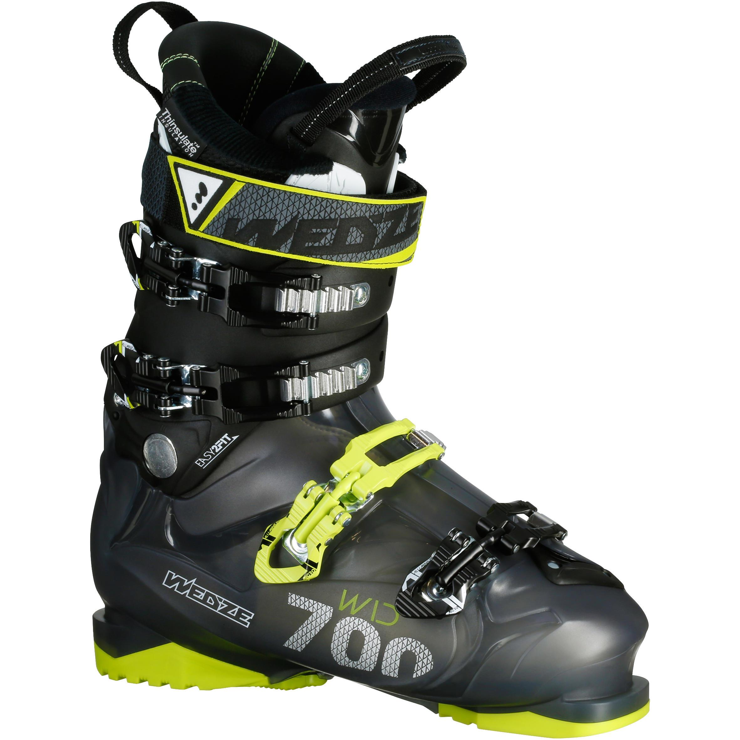Wed'ze Skischoenen Wid 700 voor heren geel thumbnail