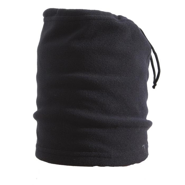 Schlauchschal Fleece Tanka Erwachsene schwarz