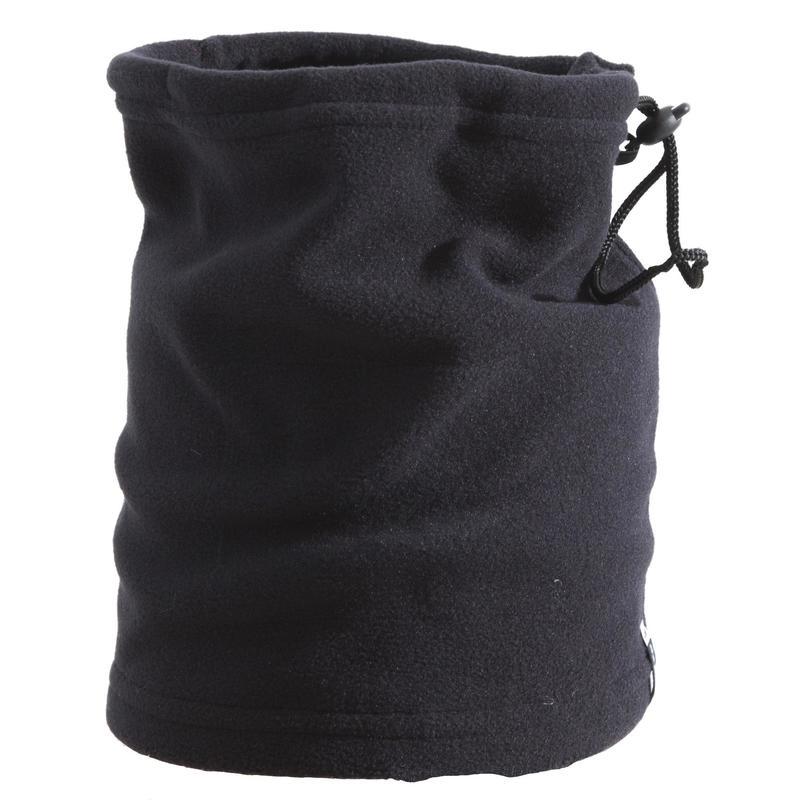 Scaldacollo sci adulto in pile nero
