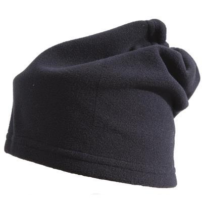 מחמם צוואר מפליז עם הידוק למבוגרים לסקי - שחור