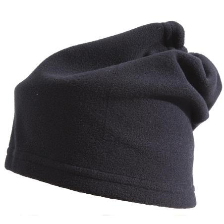 Toggle Fleece Ski Scarf - Black