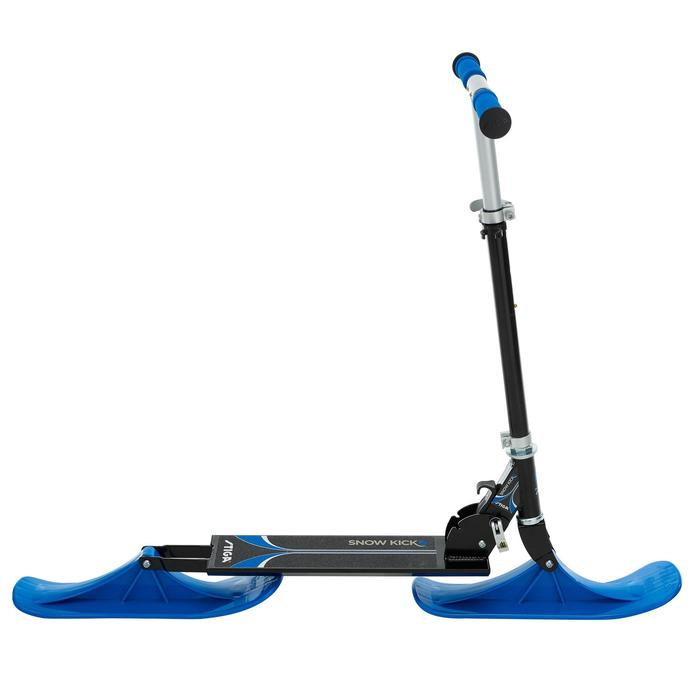 Patinete de nieve plegable snow kick y azul