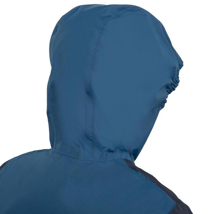 Chaqueta náutica cortaviento júnior Dinghy 100 azul oscuro/azul