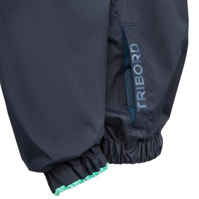 Vareuse coupe-vent enfant Dinghy 100 bleu foncé/bleu