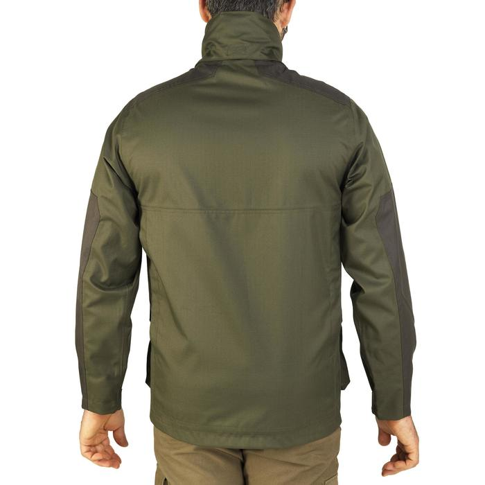 Veste chasse imperméable renfort 100 vert - 991665
