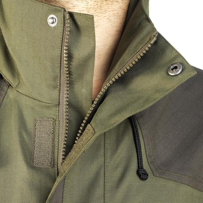 Veste chasse imperméable renfort 100 vert - 991669