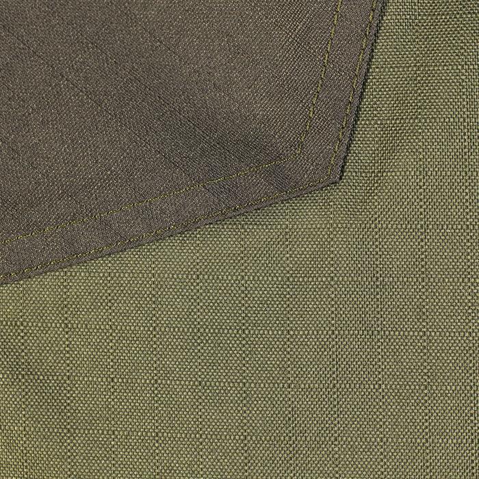 Veste chasse imperméable renfort 100 vert - 991670