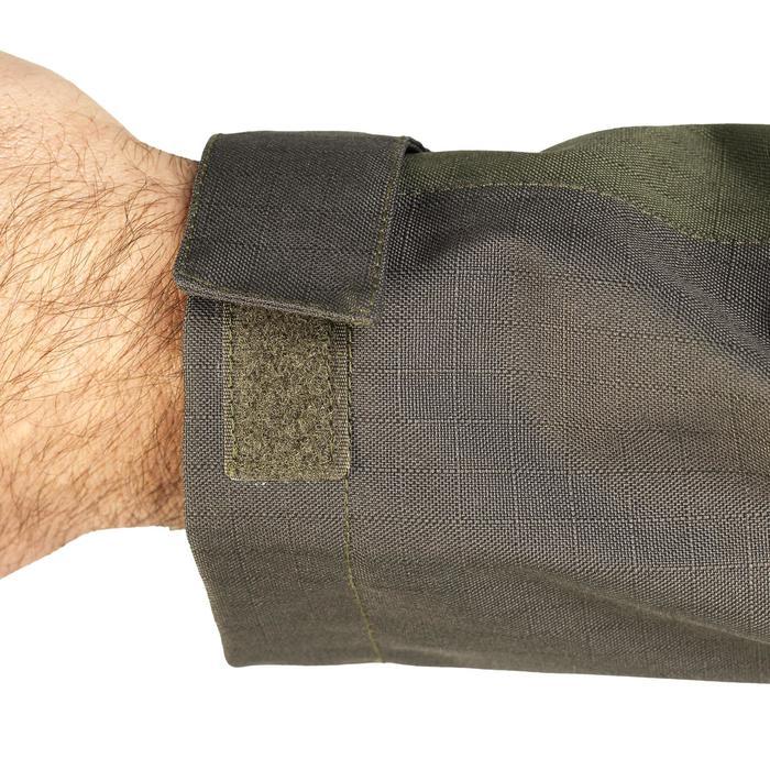 Veste chasse imperméable renfort 100 vert - 991672