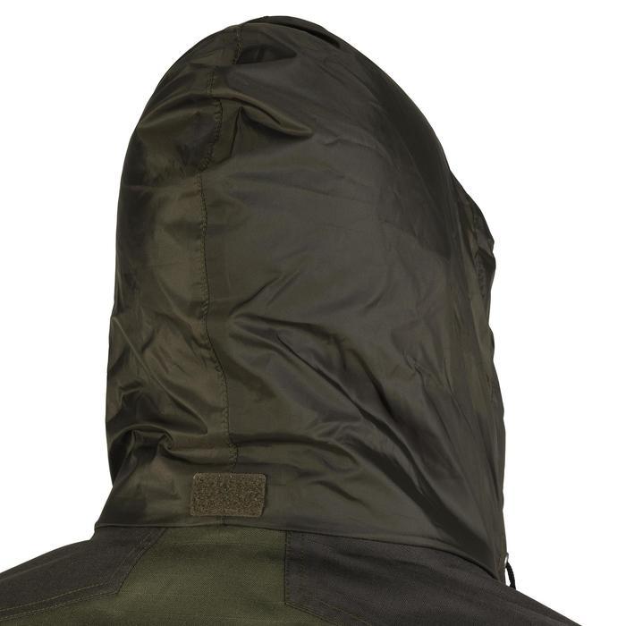 Veste chasse imperméable renfort 100 vert - 991674