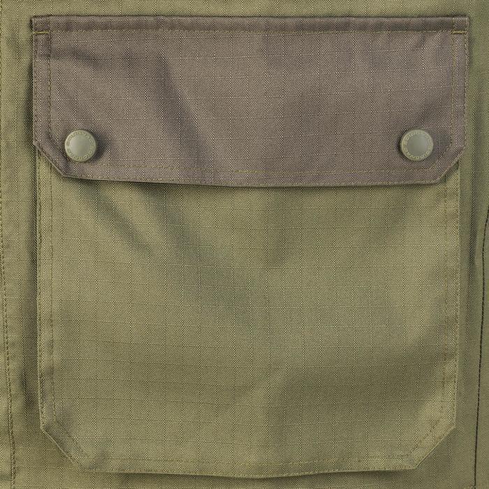 Veste chasse imperméable renfort 100 vert - 991675