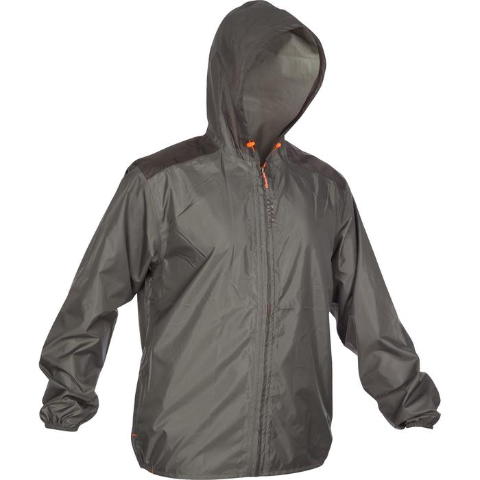 CHAQUETA CAZA IMPERMEABLE LIGHT 100 VERDE
