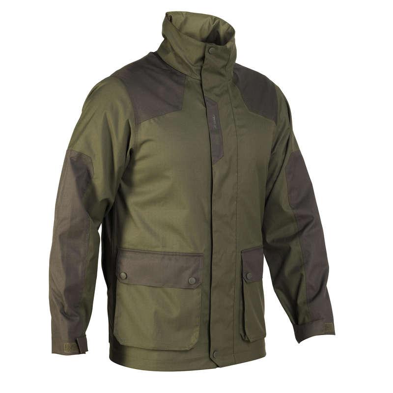 ABBIGLIAMENTO TEMPO PIOVOSO CACCIA Abbigliamento uomo - Giacca impermeabile 500 verde SOLOGNAC - Abbigliamento uomo