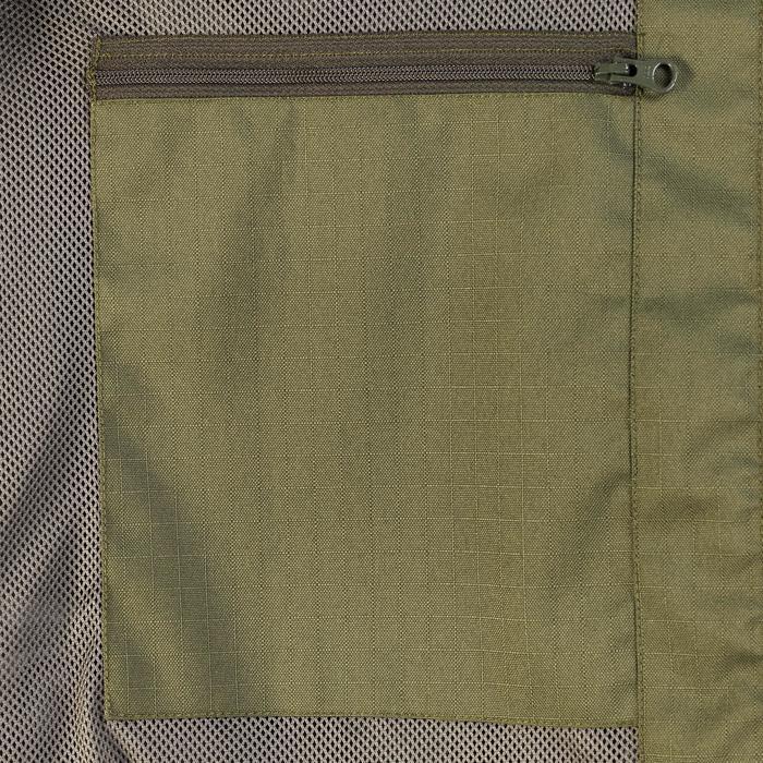 Veste chasse imperméable renfort 100 vert - 991692
